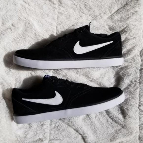 36a88e8382bdd Nike Shoes   Mens Sb Check Solar Suede Skate Shoe   Poshmark